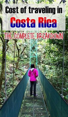 The complete breakdown of how much it'll cost to travel in Costa Rica such as food, hotels, transportation, tours, souvenirs and tips. Also has advice on how to save money and what kind of vacation you'll have according to how much you spend