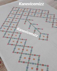 "28 Beğenme, 3 Yorum - Instagram'da @kanevicemizz: ""Yeni örnekler gelsinmi efendim #kaneviçeseverler #etaminhavlu #elemeği #seccade #havlu…"" Cross Stitch Borders, Cross Stitch Patterns, Beading Patterns, Hand Embroidery, Bullet Journal, Kids Rugs, Activities, Beads, Crafts"