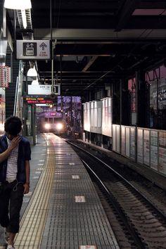Aesthetic Japanese subway
