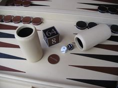 One of our magnolia backgammon boards Table Games, Magnolia, Bespoke, Tables, Boards, Design Inspiration, Contemporary, Luxury, Handmade
