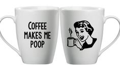 Funny Coffee Cup Coffee Quote Coffee Mug by DoTakeItPersonally