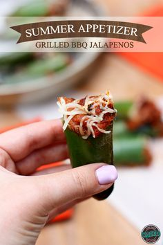 Grilling Summertime Appetizer, Pulled Pork Stuffed Jalapenos with Queso cheese! #chillingrillin #BBQ #Barbeque #Grills #BBQRecipe #BBQAprons