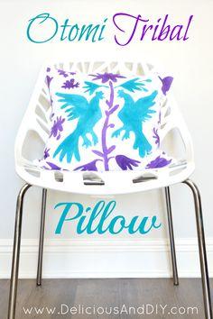 Otomi Tribal Pillow