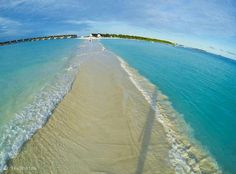 Maldives is the world's lowest country.a natural walkway in the Maldives Places Around The World, Oh The Places You'll Go, Places To Travel, Places To Visit, Around The Worlds, Travel Destinations, Dream Vacations, Vacation Spots, Places