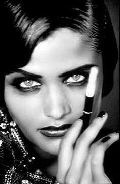 elle dit: et puis; je fume...