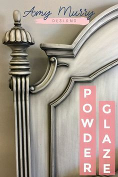 Powder glaze is a very thin liquid that when applied and allowed to dry takes on a lighter in color powder like form creating a stunning furniture finish learn more from amy murry paintedfurniture furniture furniturefinishes refinish homedecor d Redo Furniture, Diy Furniture, Painted Furniture, Glazing Furniture, Repurposed Furniture, Paint Furniture, Cool Furniture, Shabby Chic Furniture, Furniture Finishes