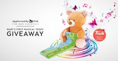 Baby's First Musical Teddy Giveaway Worth RM221.00