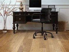 "Shaw Floors Sequoia Hickory Bravo- 3-1/4"", 5"", 6-3/8"". Handscraped Engineered Hickory hardwood floor. Light floor"