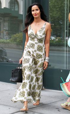 Padma Lakshmi from The Big Picture: Today's Hot Pics  The Chopped star heads to a birthday lunch in New York.