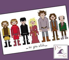 Princess Bride Inspired Cross Stitch  PDF by FangirlStitches