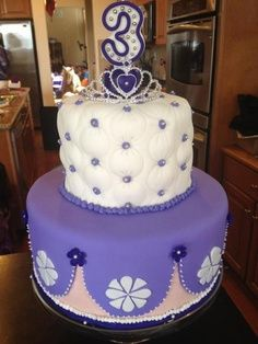 princess sofia cake topper | princess sofia cake - Google Search