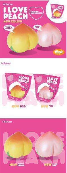 I Love peach squishy by iBloom it's so cheap RN!