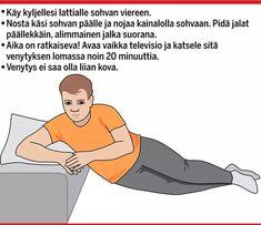 Venyttely pitää huolta lihaksista ja ehkäisee kipuja ja vammoja.