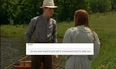 """Right, Gilbert? 