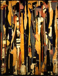 Lee Krasner, City Verticals. Completed in 1953, three years before the death of her husband, artist Jackson Pollock.