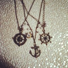 Long nautical necklace $32!!! So great!!