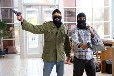 Assaltando um banco