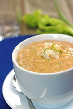 Hearty and Creamy Crab Bisque