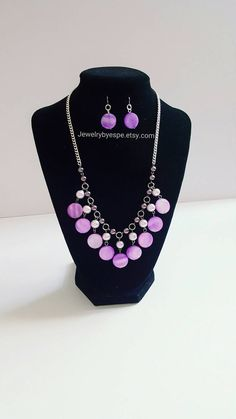 Hey, I found this really awesome Etsy listing at https://www.etsy.com/listing/264810308/purple-mother-of-pearl-statement