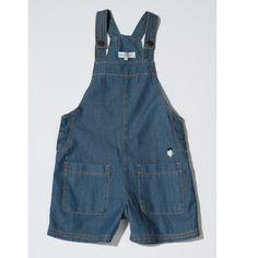 Denim overalls – pomme