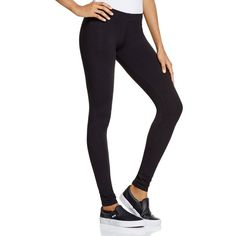 So Low Leggings ($59) ❤ liked on Polyvore featuring pants, leggings, black, stretch leggings, stretchy leggings, stretch pants, so low and legging pants