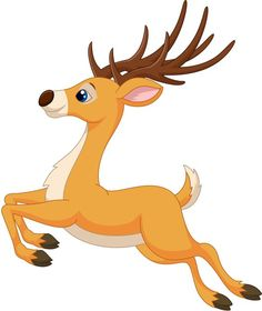 cute reindeer clip art clipart free clipart holiday christmas rh pinterest com cute santa and reindeer clipart