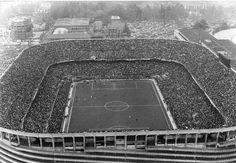 San siro negli anni 60    Fotografia di Sergio Borsotti #calcio #sport #storia