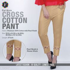 Trousers & Pants Trendy Cotton Pant Fabric: Cotton