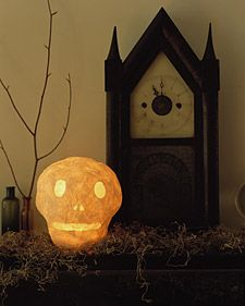 Papier-Mache Decorations: Glowing Skull | Step-by-Step | DIY Craft How To's and Instructions| Martha Stewart