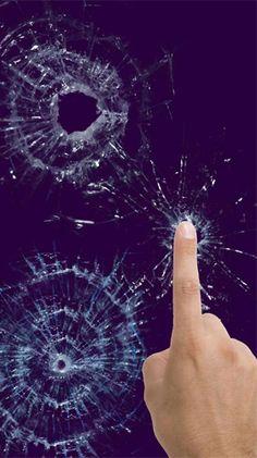 Broken glass by Cosmic Mobile Kostenlos Downloaden
