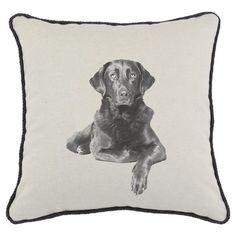 Labrador Pillow.