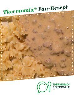 Hackfleisch mit Zwiebel Käse Soße von meusterin. Ein Thermomix ® Rezept aus der Kategorie Hauptgerichte mit Fleisch auf www.rezeptwelt.de, der Thermomix ® Community.