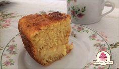 Receita de bolo de milho, cremoso e super macio!