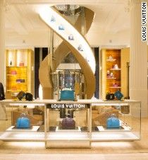 Louis Vuitton becomes latest luxury brand to design theatrical retail experiences including bespoke boutiques, hotels, cafes and clubs for shoppers.