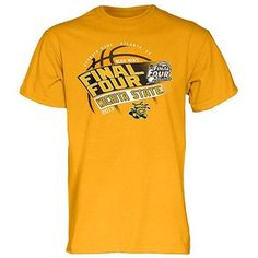 After their concentrated efforts and tireless hard work, your Shockers have made it to the 2013 Men's Basketball Final Four! Commemorate this occasion while rooting for your favorite Wichita State players with this Final Four Bound Slope T-shirt. This tee features team graphics and a Final Four logo so you can cheer on your team as they go for the Championship title! #WATCHUS
