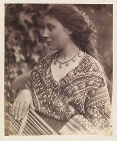 Sappho - Julia Margaret Cameron - c. 1865