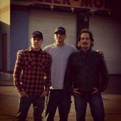 Theo (Juice), David (Happy), & Kim (Tig)  Sons Of Anarchy