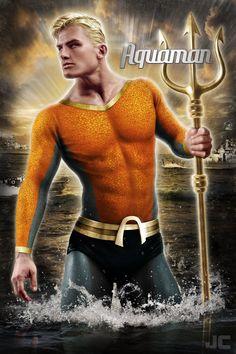 Aquaman Poster by Jeffach on deviantART
