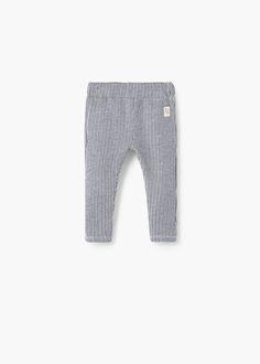 Pantalón textura | MANGO KIDS