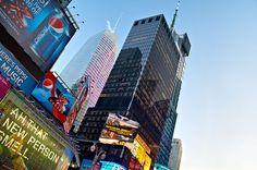 Times Square Skyline