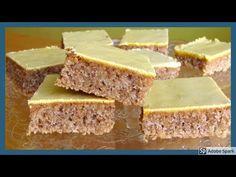 Ořechovo-žloutkové řezy - YouTube Cornbread, Sweet Recipes, Cheesecake, Ethnic Recipes, Youtube, Anna, Coffee, Pies, Kuchen