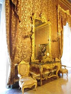 Royal Palace interior , Napoli , Italy