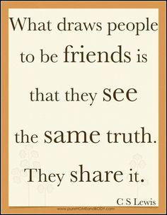 cs lewis quote friendship