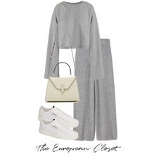 grey - Fashion look Grey Fashion, Look Fashion, Hijab Fashion, Korean Fashion, Fashion Outfits, Womens Fashion, Kpop Outfits, Trendy Outfits, Cute Outfits
