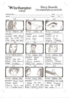 video production storyboards - Google Search