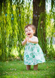 #baby Outdoor 1st year portraits