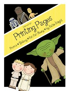 Star Wars Printing Pages! The kids are going to love these!