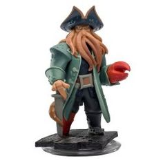 Interactive game piece for Disney Infinity Starter Pack. Works with all Disney Infinity game platforms. Davy Jones stars in Disney's Pirates of the Caribbean. Davy Jones, Disney Toys, Disney Pixar, Disney Villains, Walt Disney, Figuras Disney Infinity, 3d Character, Character Design, Character Concept