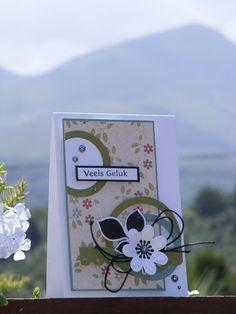 Kaartjie kreatief / Cards creative: Mojo Monday#434