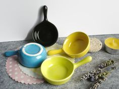 x4 Mini Appetizer Plates Porcelain mini frying pans in sets of 4 mixed colors Cute small porcelain plates appetizer plates porcelain mini plate mini frying pan small plates porcelain containers sauces mini soap dish sauces plates plates set tea candle holder miniature porcelain pottery gift glazed ceramic dish 11.00 USD #goriani